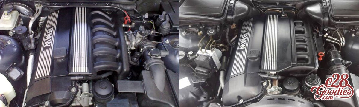 Insert some plastic here  The m52 swap  - E28 Goodies