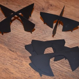 """Black hella"" steel corsairs"