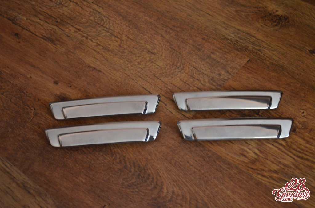 Polished Aluminum Door Handles E28 Goodies