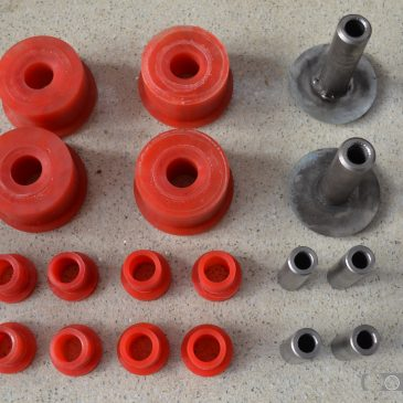 Rear axle polyurethane bushes