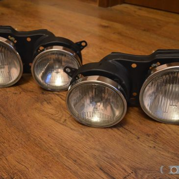 Refreshed set of euro headlights + free grills