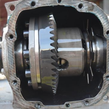 Pinion and crown set – 4.45 gear ratio