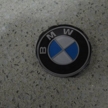 Steering wheel badge