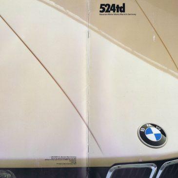 1985 524td brochure – USA