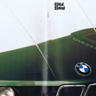 1986 524d 524td brochure – Germany