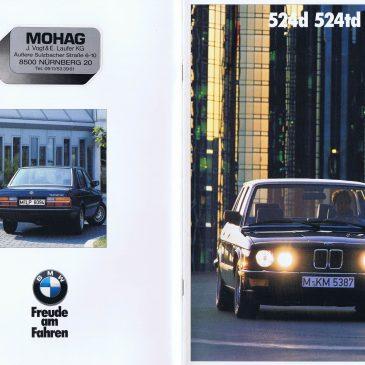 1987 524d 524td brochure – Germany