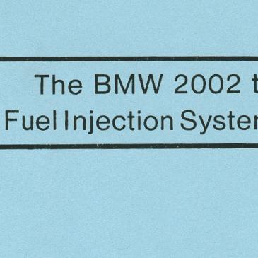 BMW 2002 Tii Kugelfischer Guide