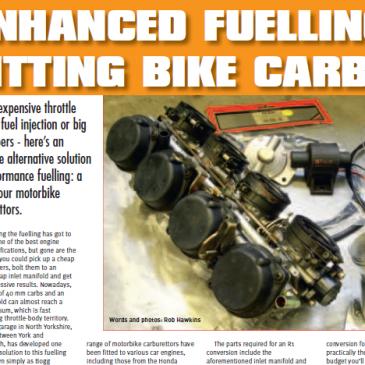 Fitting bike carburetors