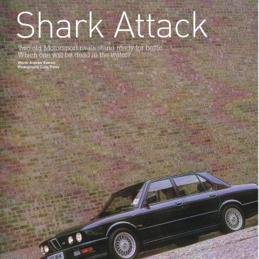 Shark attack – e12 vs. e28
