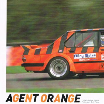 Agent Orange – racecar review