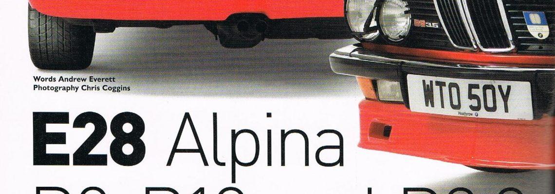 Alpinas model lineup article