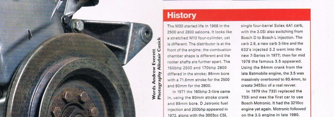 The M30 Article