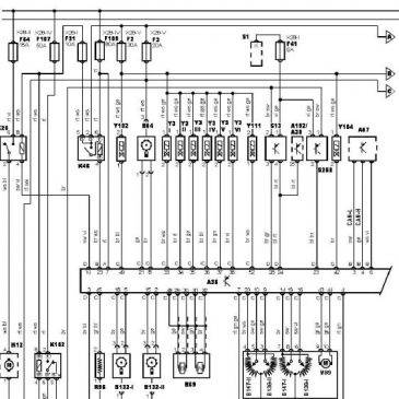 M52B28 wiring diagram (e39), version 1