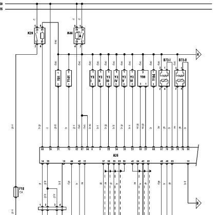 M52B28 wiring diagram (e39), version 2