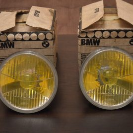 Genuine yellow 'french ver' high beams