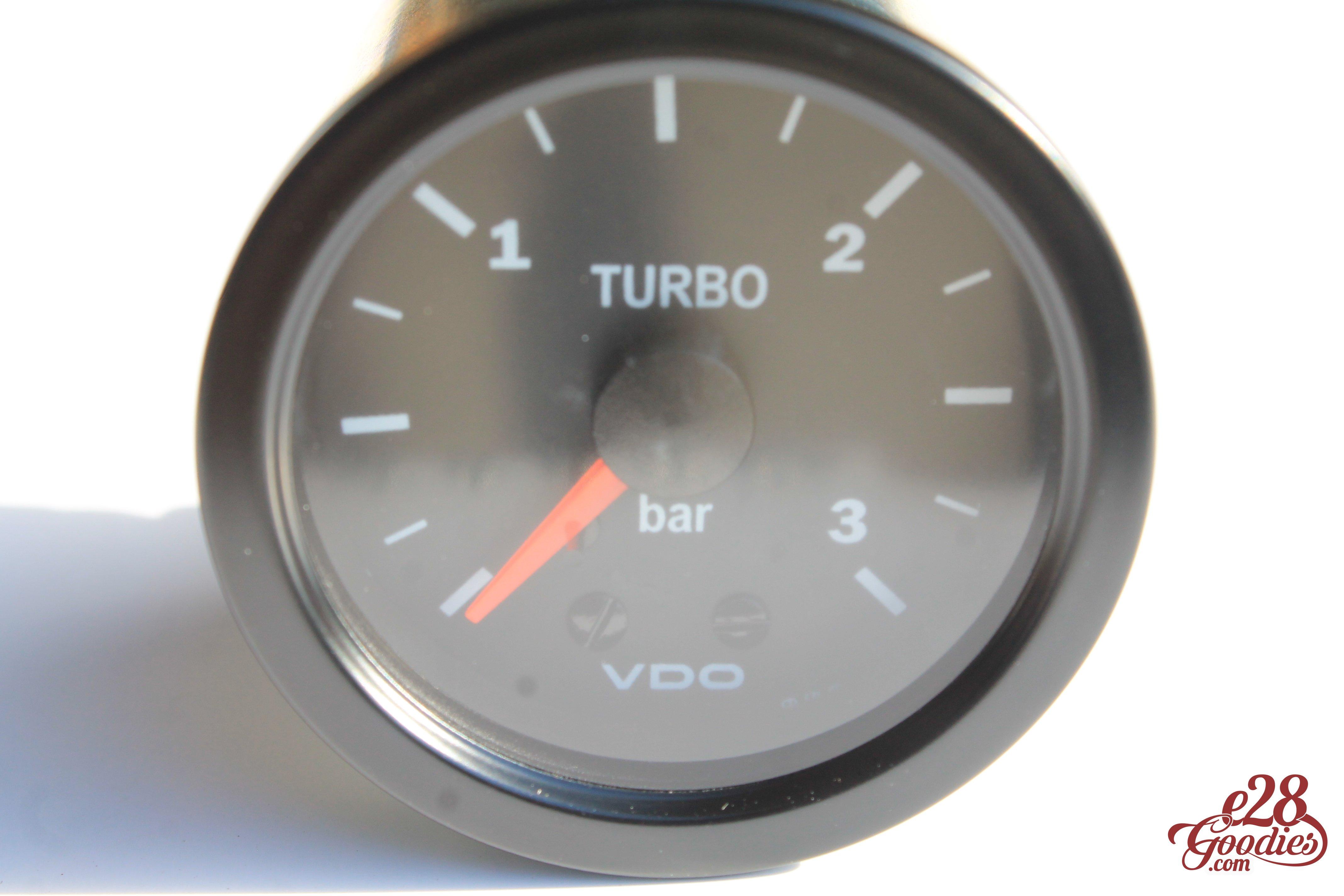 VDO 3 Bar Turbo pressure gauge /for diesels/