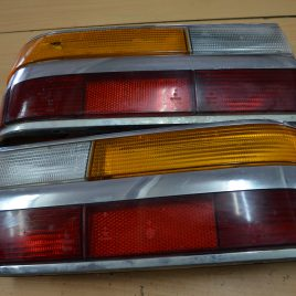 Pair of tail lights (damaged turn signals)
