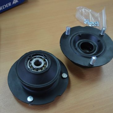 Mcpherson strut bearing, set of two