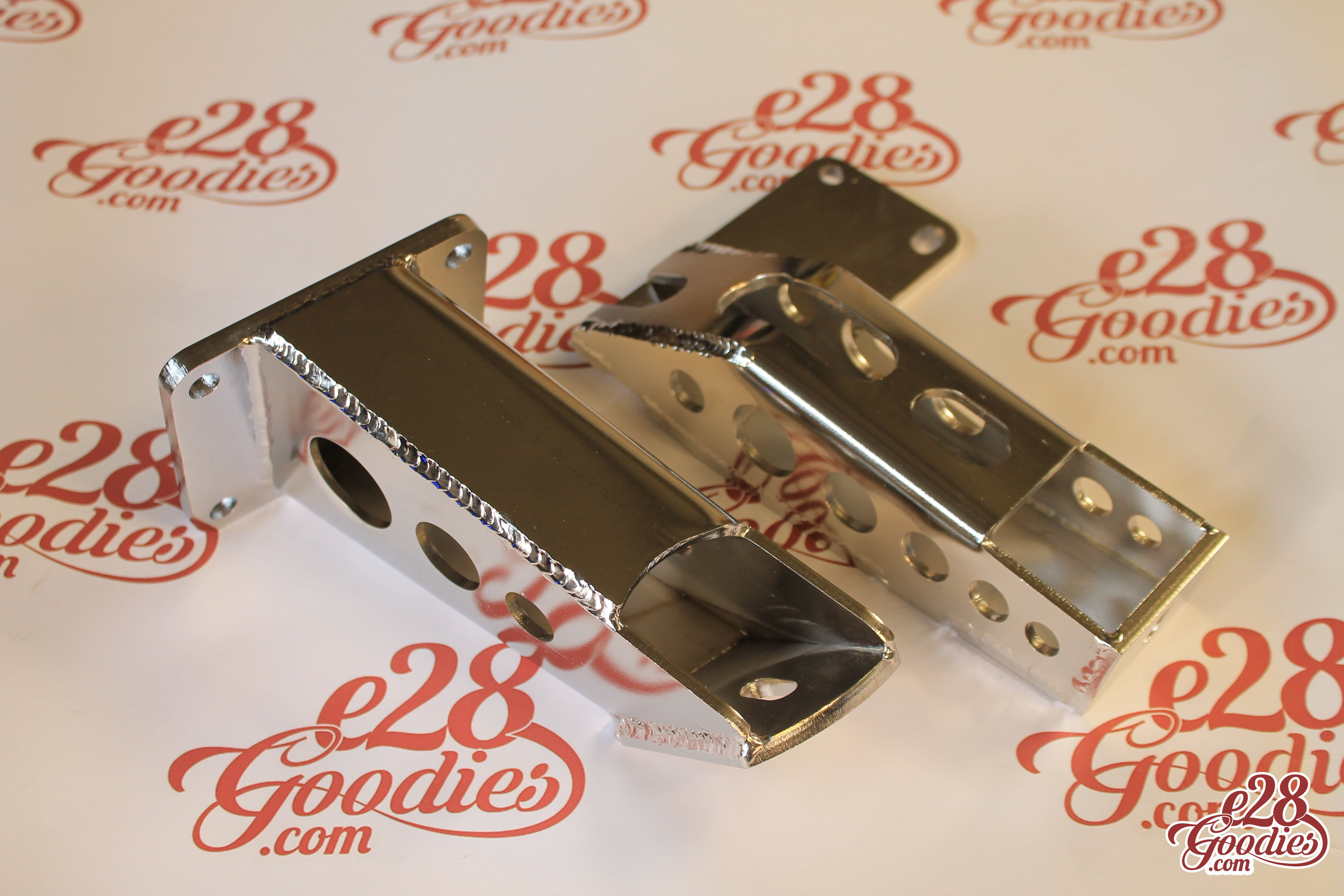 M50/M52/M54 or.. S50/S52/S54 engine mounts for your e28 – Stainless!