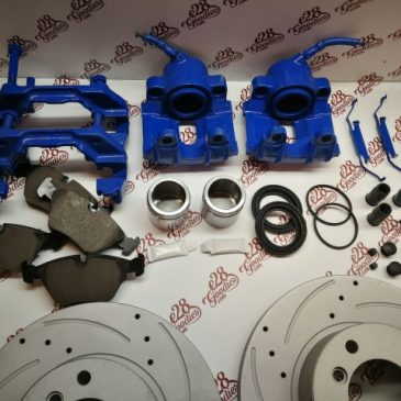 302/22/60 mm sporty front brakes kit.