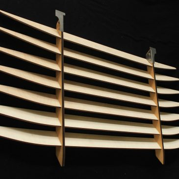 Rear interior blinds [Katana Blinds]