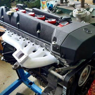 Mercedes M104 turbo manifold #preorder