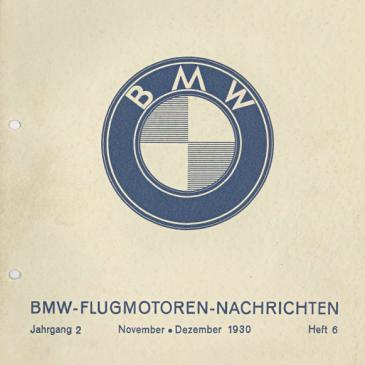BMW Flugmotoren – Nachrichten. September-Oktober 1929
