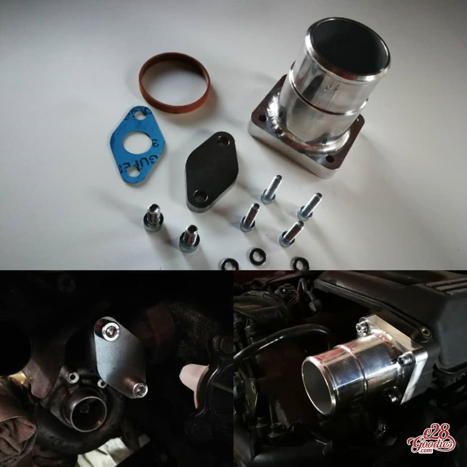 M57 EGR delete kit / race pipe